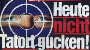 2018-09-22 Tatort5 513 Tausend Tode Klara Blum Eva Mattes SWR