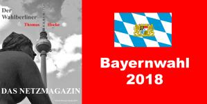 2018-10-14 Bayernwahl Landtagswahl Bayern