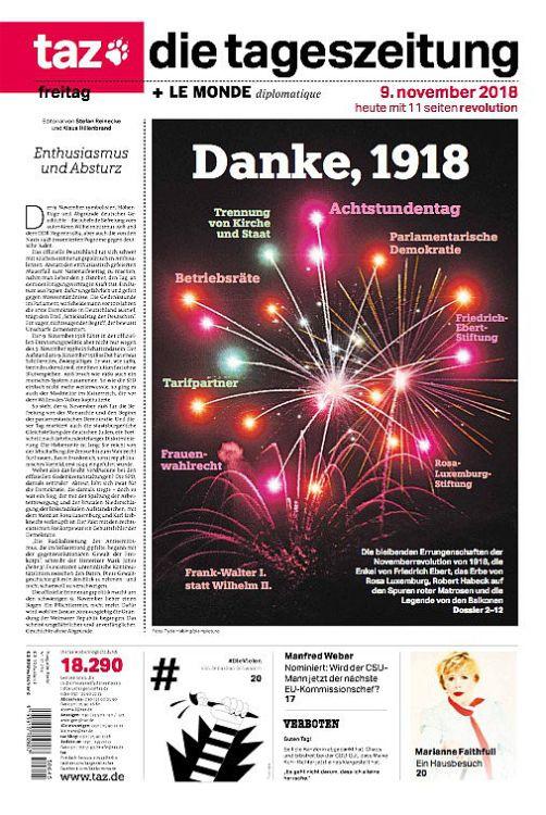2019-02-02 TAZ 9. November - Danke 1918