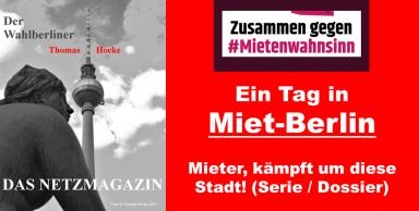 2018-12-11 Ein Tag in Miet-Berlin Mietenwahnsinn Mieter, kämpft um diese Stadt