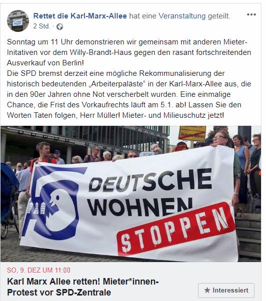 2019-04-08 Rettet die Karl-Marx-Allee Aufruf Veranstaltung 2018-12-09