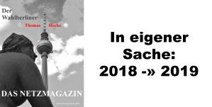 2019-01-07 in eigener sache - 2018-2019