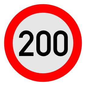 2019-06-29 tempolimit 200