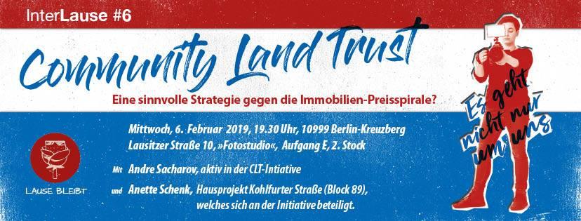 2019-07-28 Community Land Trusts (CLT) in Berlin