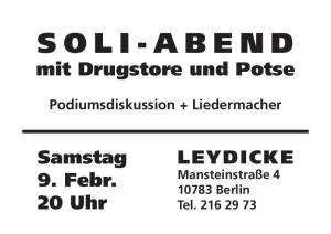 2019-08-08 Soli-Abend am 2019-02-09 im Leydicke Potse Drugstore