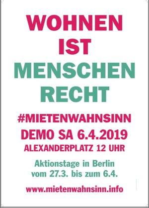 2019-03-22 Plakat gegen Verdrängung 1