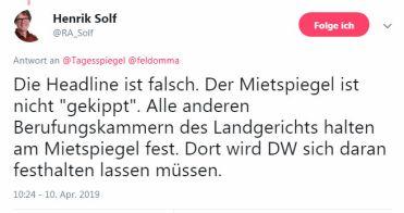 2019-04-10 Hnrik Solf auf Tsp Twitter