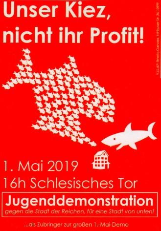 2019-05-01 Unser Kiez, nicht ihr profit 2