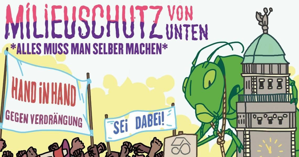 2019-05-22 Demo Milieuschutz von unten gegen Heuschrecken