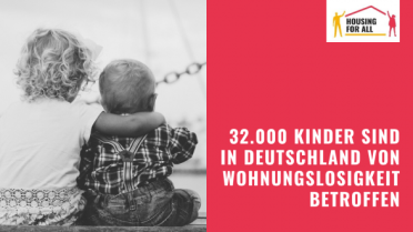 2019-11-20 Housing for all 32.000 Kinder auf der Straße