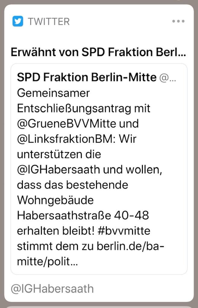 Und hier das Pendant von der SPD.