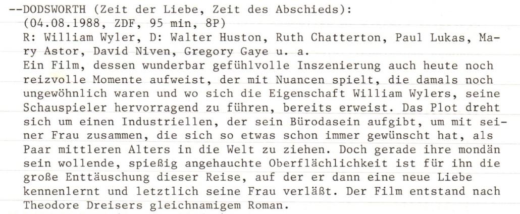 2020-10-21 FF 0134 Zeit der Liebe, Zeit des Abschieds Dodsworth USA 1936 Text