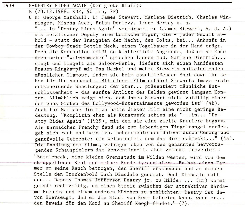 2020-10-28 Destry Rides Again USA 1939 Text