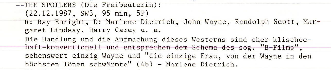 2020-11-20 FF 0222 Die Freibeuterin The Spoilers USA 1942 Text
