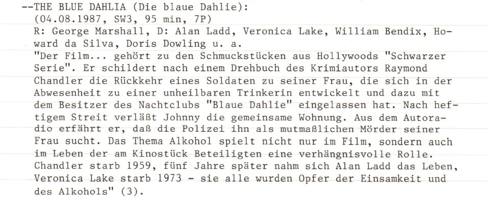 2020-12-03 FF 0261 Die blaue Dahilie The Blue Dahlia USA 1946