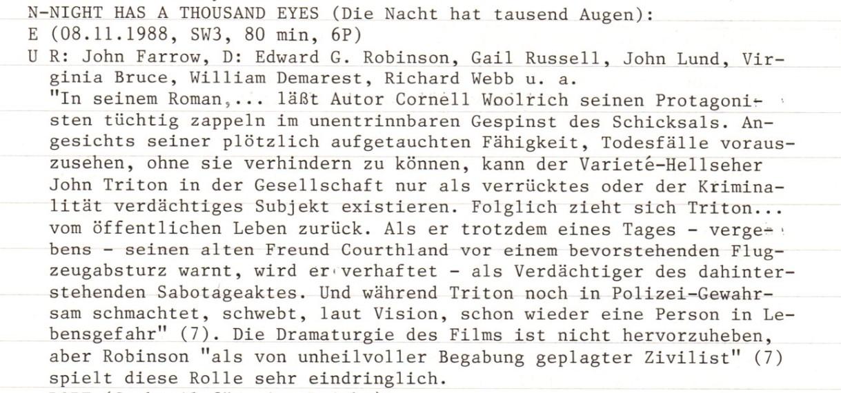 2020-12-12 FF 0293 Die Nacht hat tausend Augen Night Has a Thousand Eyes USA 1948