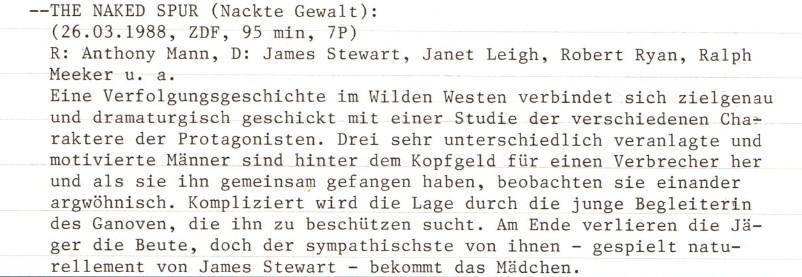 2021-01-22 FF 0036.1 Nackte Gewalt The Naked Spur USA 1953 Text