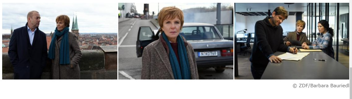 2021-02-03 Kommissarin Lucas Folge 31 Nürnberg Ulrike Kriener ZDF Bilderband