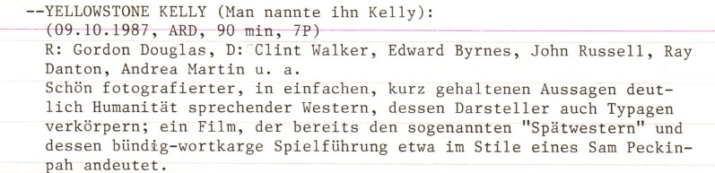 2021-03-30 FF 0423 Man nannte ihn Kelly Yellowstone Kelly USA 1959