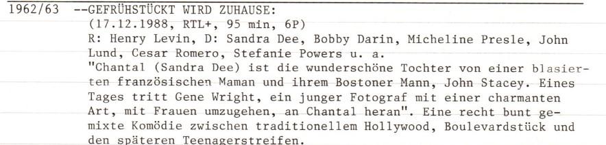 2021-05-27 FF 0486 Gefrühstückt wird zu Hause If A Man Answers USA 1962